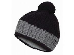 HUSKY CAP 12 čepice černá