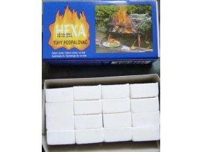 HEXA tuhý podpalovač líh 200g 16 kostek