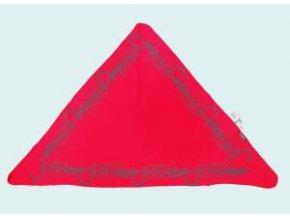 INFIT GINELI šátek trojcíp mix barev
