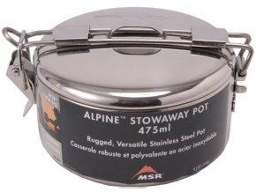MSR ALPINE STOWAWAY pots 475ml hrnec (varianta nerez)