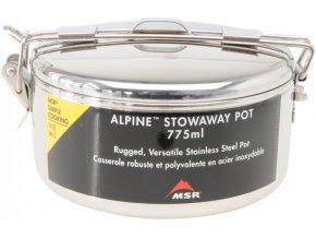 MSR ALPINE STOWAWAY pots 775ml hrnec (varianta nerez)