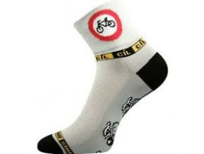 VOXX RALF X ponožky cyklo zákaz vjezdu (varianta 26-28(39-42))